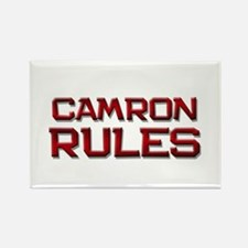 camron rules Rectangle Magnet
