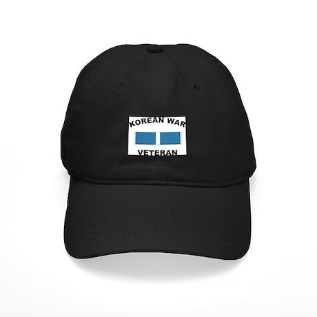 Korean War Veteran Black Cap