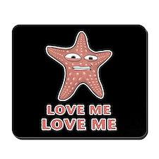 Starfish Love Me Love Me Mousepad