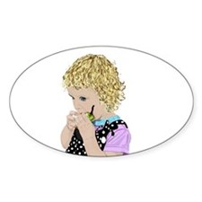 Peargirl Oval Decal