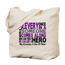 HERO Comes Along 1 Grandpa PC Tote Bag