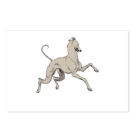 Dancing Greyhound Postcards (Package of 8)