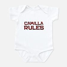 camilla rules Infant Bodysuit