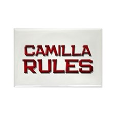 camilla rules Rectangle Magnet