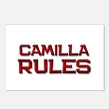 camilla rules Postcards (Package of 8)
