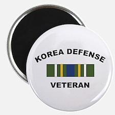 """Korea Defense Veteran 2.25"""" Magnet (10 pack)"""