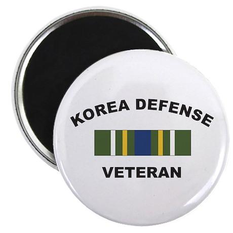 Korea Defense Veteran Magnet