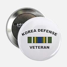 "Korea Defense Veteran 2.25"" Button (10 pack)"