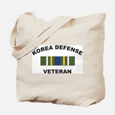 Korea Defense Veteran Tote Bag