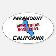 paramount california - been there, done that Stick