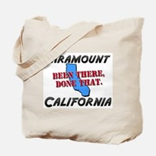 paramount california - been there, done that Tote