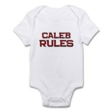caleb rules Infant Bodysuit