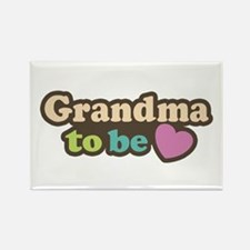 Grandma To Be Rectangle Magnet