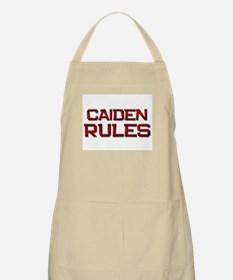 caiden rules BBQ Apron