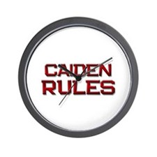 caiden rules Wall Clock