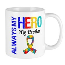 Autism Hero Brother Mug