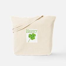 Barry shamrock Tote Bag