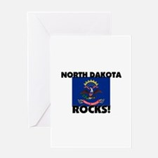 North Dakota Rocks Greeting Card