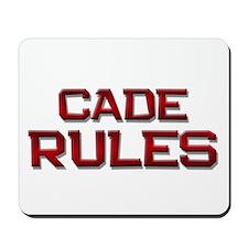 cade rules Mousepad
