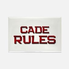 cade rules Rectangle Magnet