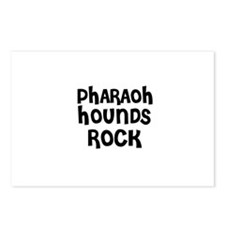 PHARAOH HOUNDS ROCK Postcards (Package of 8)