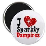 I Love Sparkly Vampires Magnet