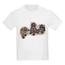 Baby Mountain Lions Kids T-Shirt