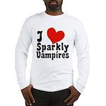 I Love Sparkly Vampires Long Sleeve T-Shirt