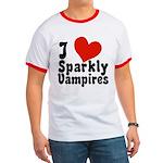 I Love Sparkly Vampires Ringer T