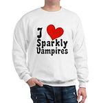 I Love Sparkly Vampires Sweatshirt