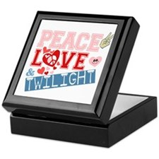 Peace Love and Twilight Keepsake Box