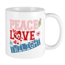 Peace Love and Twilight Mug