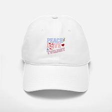 Peace Love Twilight Baseball Baseball Cap