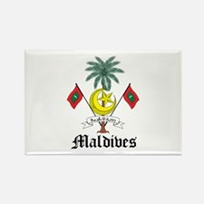 Maldivian Coat of Arms Seal Rectangle Magnet