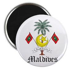 Maldivian Coat of Arms Seal Magnet