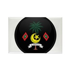 Coat of Arms of maldives Rectangle Magnet