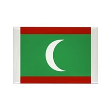 Maldivian Rectangle Magnet