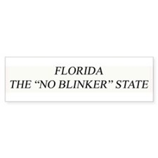 "The ""No Blinker"" Bumper Bumper Sticker"
