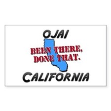 ojai california - been there, done that Decal