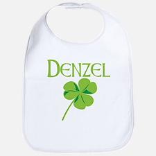 Denzel shamrock Bib