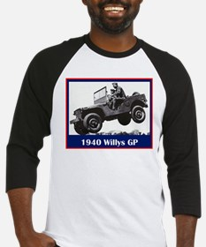 """1940 Willys GP"" Baseball Jersey"