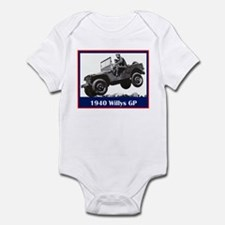 """1940 Willys GP"" Infant Bodysuit"