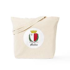 Maltese Coat of Arms Seal Tote Bag