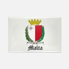 Maltese Coat of Arms Seal Rectangle Magnet