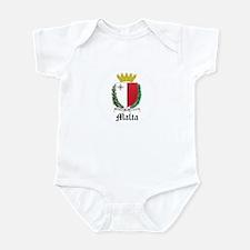 Maltese Coat of Arms Seal Infant Bodysuit