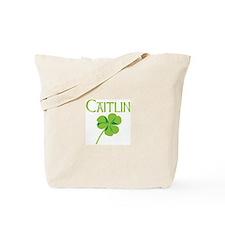 Caitlin shamrock Tote Bag