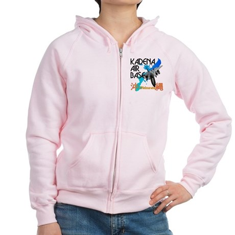 Kadena AB New Design Women's Zip Hoodie