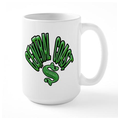 Central Coast -- T-Shirt Large Mug