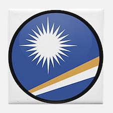 MARSHALL ISLANDS Tile Coaster