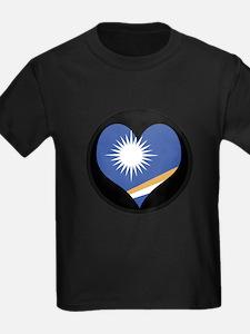 I love MARSHALL ISLANDS Flag T